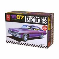 AMT 981 1967 Chevrolet impala SS 1:25 Scale Plastic Model Kit