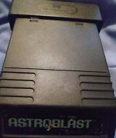 Astroblast Atari 2600 GAME 1982 EXCELLENT CONDITION VINTAGE FREE SHIPPING