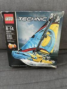Lego Technic 42074 TECHNIC RACING YACHT Catamaran NEW Sealed Boat Ship Sailing
