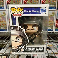 """Funko Pop Rocks : Marilyn Manson #154 Vinyl """"Mint"""" (In Stock)"""