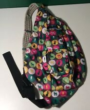 Kavu Rope Bag Backpack Crossbody Purse - Animals Rabbit Horse Rare HTF