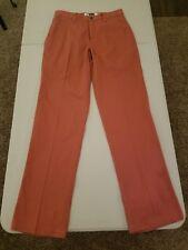 Men's Mountain Khakis Flat Front Hiking Trail Pants Size 32W X 34L