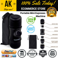 Portable & Compact Mini Espresso Coffee Maker With Carry Bag Outdoor & Travel