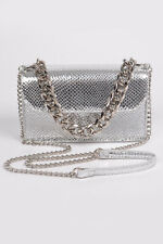 Ladies Snakeskin Leather Cross Body Bag Shoulder Girls Clutches Handbag