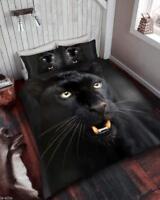 Duvet Cover Set 3D Animal Print Effect Quilt Bedding Set Single Double King