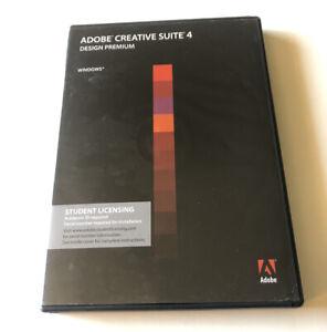 Adobe Creative Suite 4 Design Premium Windows Used w/ Serial Number #65021972