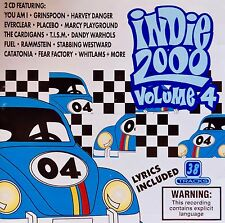 Indie 2000 Vol. 4 (CD) Even/Pulp/Grinspoon/Billy Bragg & Wilco/Whitlams/You Am I