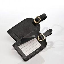2x Negro Seguridad Etiquetas de equipaje Equipaje Etiquetas por Travel Blue