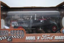 1:18 Highway 61 #50161 Ford Model a Roadster Black - Rarity $