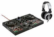Hercules DJ Control Inpulse 200 Controller 2 Deck Set DJUCED-Software Kopfhörer