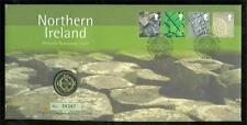 Great Britain Philatelic Numismatic 2001 'Northern Ireland' Cover