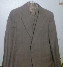 men's vintage wool 3 piece suit 70s 80s 38R - 39R