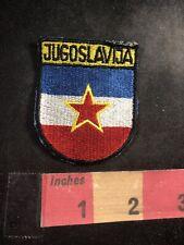 Vtg Yugoslavia JUGOSLAVIJA Patch 80C5