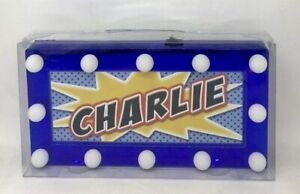 Children's Light Up LED Personalised Room Signs