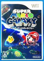 Super Mario Galaxy - Wii Nintendo Platforming Game from Japan F/S