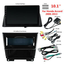For Honda Accord 08-13 Android 9.1 10.1' Gps Navigation Stereo Radio Wifi Bt Fm