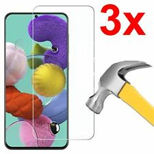 3x Case Friendly Tempered Glass Screen Protector for Samsung Galaxy A51 / A71