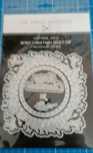 The Paper Boutique Berry Christmas Doily Die- 7 dies- Brand new- un opened