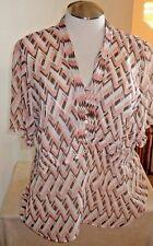 Lane Bryant Women's Sheer Blouse Size 18/20