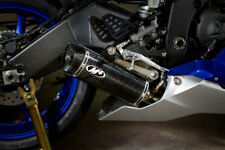 M4 EXHAUST YAMAHA R6 06-17 Full System with CARBON X96 Muffler STANILESS Tubing