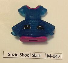 #15 Shopkins McDonalds Happy Meal Suzie School Skirt M-047 & Penelope Perf M-029