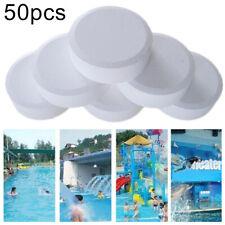 50x Chlor Tabletten Multifunktion Schwimmbad Box Spa Effektiv Desinfizieren Cha