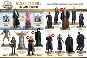 HARRY POTTER WIZARDING WORLD FIGURINES - EAGLEMOSS - Brand New, Boxed + magazine