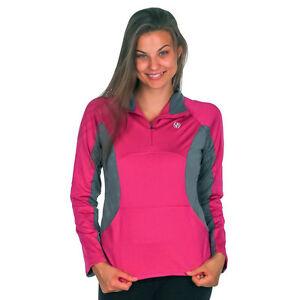 illumiNITE Reflective Half Zip Motiv Pullover for WOMEN