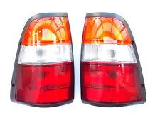 ISUZU SL-TFR VAUXHALL BRAVA Pick-up -97 POSTERIORE TAIL Segnale Lampada Luci Set Giallo