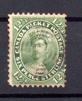 British Canada 1859 12 1/2c fine used SG#39 WS15614