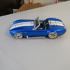 1965 FORD SHELBY COBRA 427 S/C CONVERTIBLE JADA 1:24 SCALE DIECAST