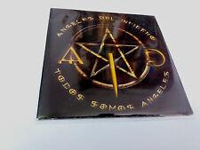 """ANGELES DEL INFIERNO """"TODOS SOMOS ANGELES"""" CD SINGLE 1 TRACK COMO NUEVO"""