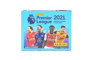 Panini 2021 Premier League Football Soccer Sticker Box of 50 Packs