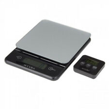 Accura Hebe Electronic Kitchen Weight Scale and Time Value Set Black 5kg/1g!