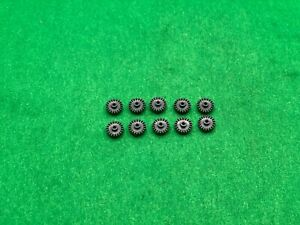 AURORA AFX NEW LOT OF 10 19 TOOTH CROWN GEARS FOR MAGNATRACTION CHASSIS