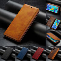 Leather Case For Huawei P30 P20 Lite Mate 20 Pro Flip Magnetic Card Stand Cover