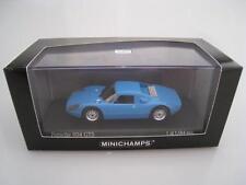 Porsche 904 GTS  in blau  Limitiert auf 1.584 St.  Minichamps  Maßstab 1:43  NEU
