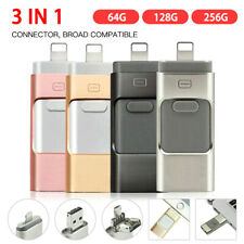 3in1 USB iFlash Drive Disk Storage Memory Stick For iPhone iPad PC Android 256GB