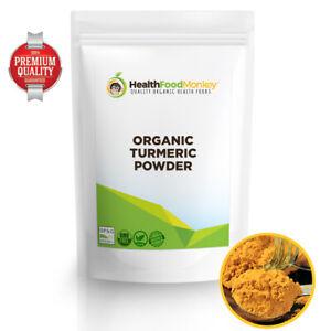 Organic Turmeric Powder (UK Certified Organic) 3.3% Curcumin Ayurvedic Haldi