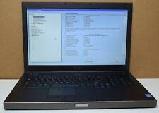 "Dell Precision M6800 Intel Core i7-4910MQ 2.90GHz 32GB RAM 17.3"" Full-HD Laptop"