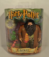 "2001 Hagrid & Norbert 4.5"" Mattel Magical Minis Harry Potter Action Figure"