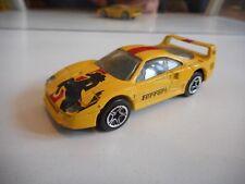 Matchbox Ferrari F40 in Yellow