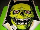 VINTAGE Blacklight Poster #926 Skull 1976 Funky Enterprises Velvet 23 x 35 Tape