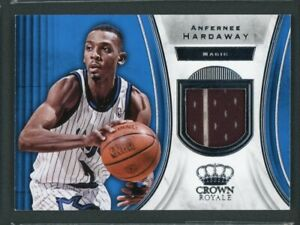 2018-19 Anfernee Hardaway Jersey Patch Panini Crown Royale