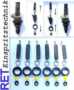 Reparatursatz Dichtsatz Repairkit Einspritzdüsen BOSCH D-Jetronic 6 Zylinder