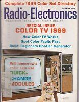 Radio-Electronics Magazine How Color TV Works January 1969   /b1