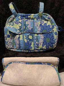 Vera Bradley Daisy Daisy Diaper BABY Bag Tote 11 x 15 x 5 Good Used Condition