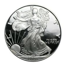 2020 1oz American Silver Plated Steel