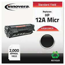 Innovera Remanufactured Q2612A(M) (12AM) MICR Toner Black 2612MICR