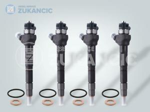 4 x Injektor BOSCH Land Rover Jaguar XE XF 2,0 Diesel 0445110701 G4D3-9K546-BB